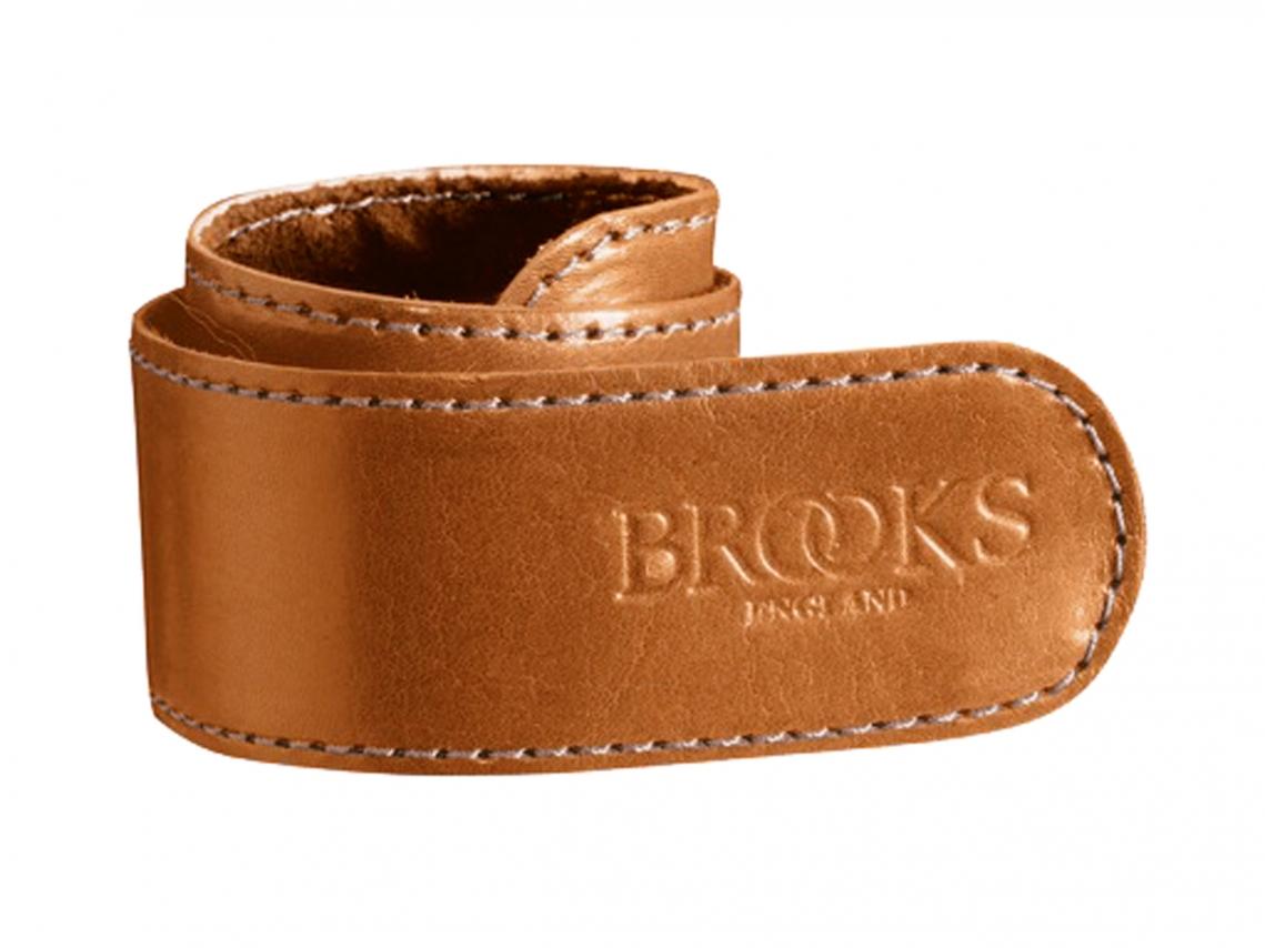 Brooks Lederen Broekklem Honing