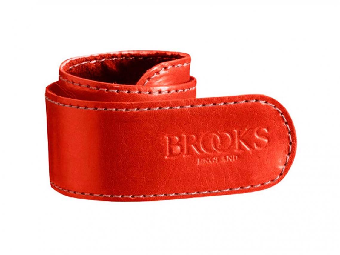 Brooks Lederen Broekklem Rood