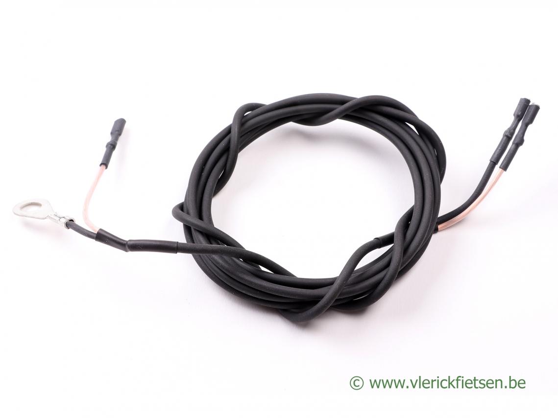 SON Coax kabel 190 cm met 2 polige verbinding