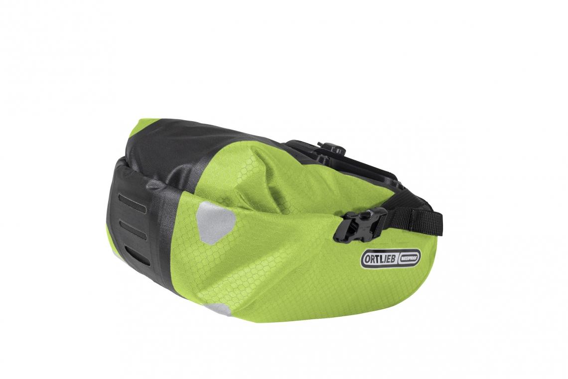 Ortlieb Saddle-Bag Two Zadeltas 4.1L Limoen-Zwart