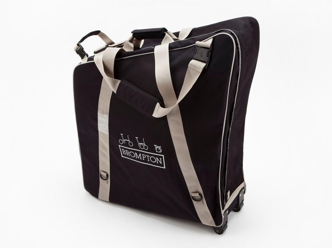 Brompton B-Bag Transporttas Zwart