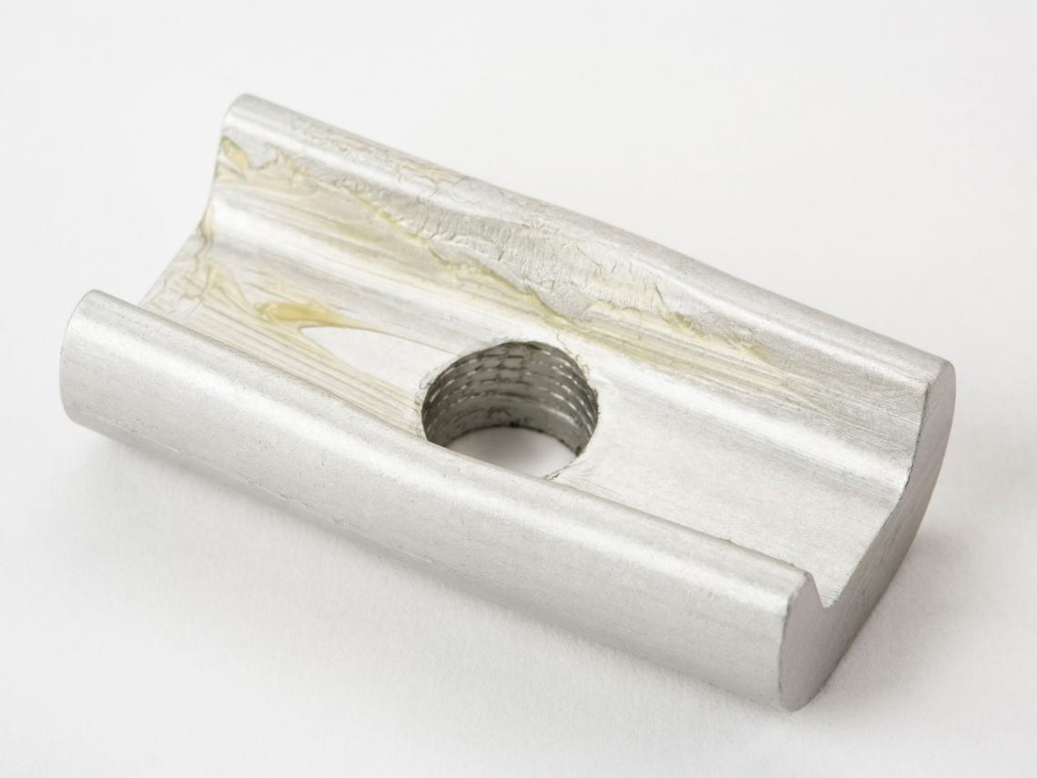 Brompton Frame- Stuur- Klemplaat Zilver