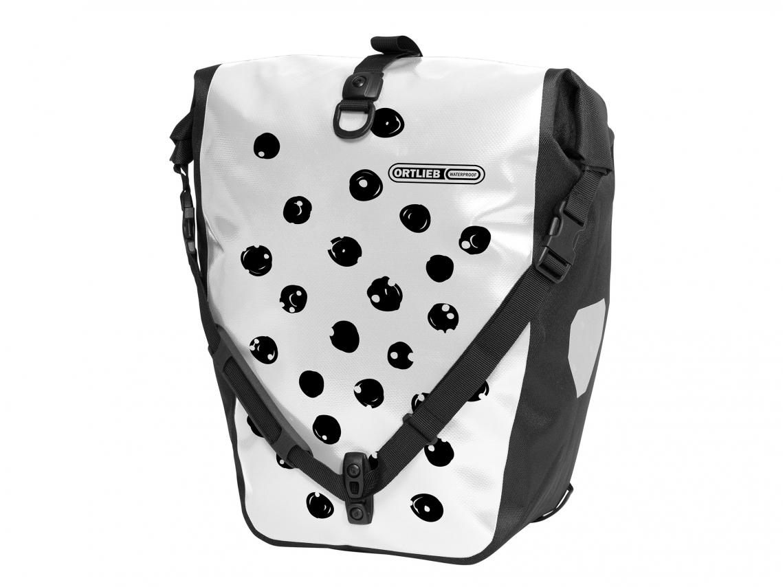 Ortlieb Back-Roller Design Achtertas Dots