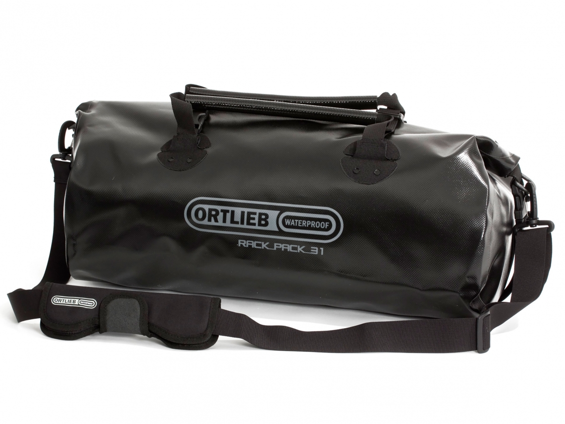 Ortlieb Rack-Pack M Reis- & Sporttas 31L Zwart