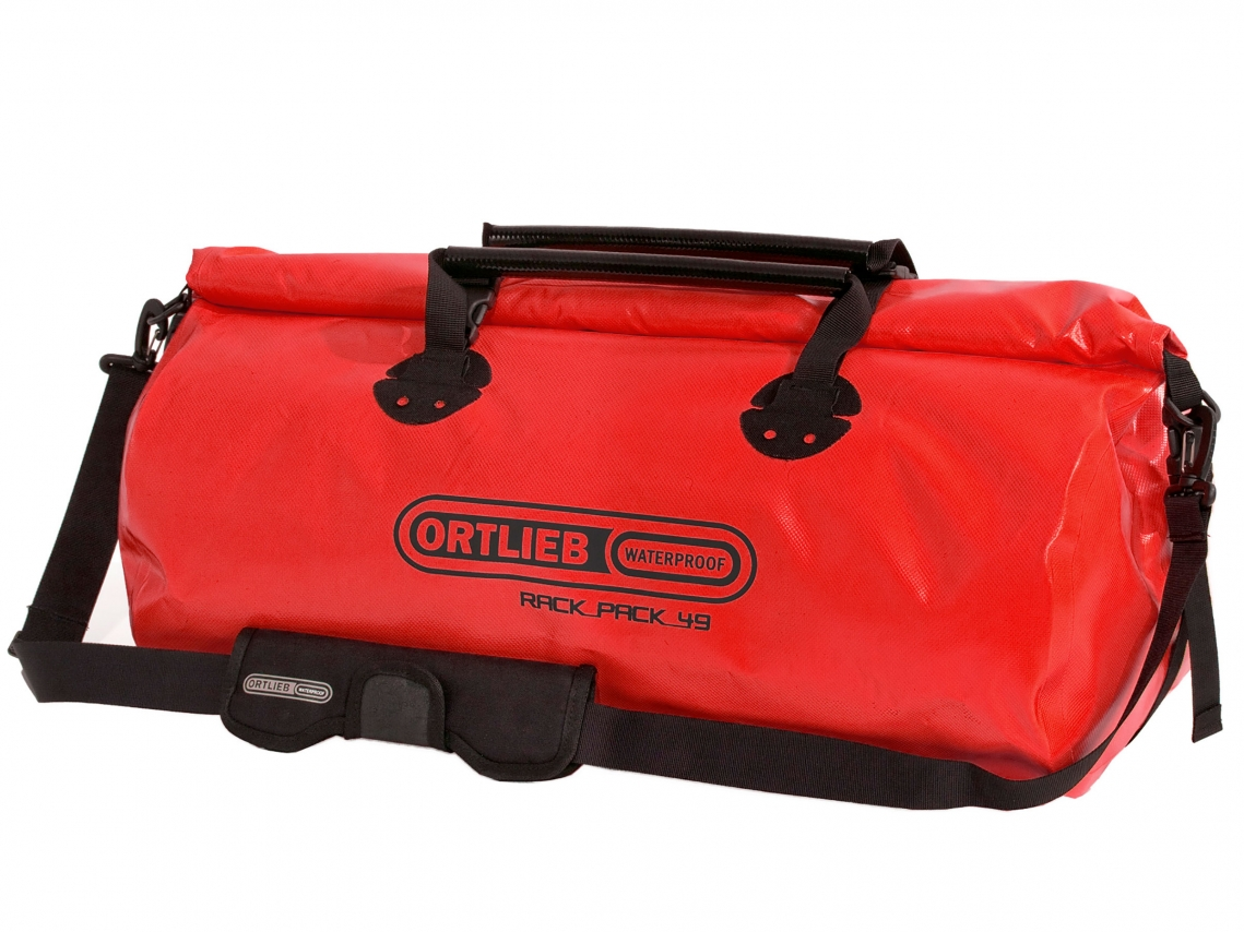 Ortlieb Rack-Pack L Reis- & Sporttas 49L Rood
