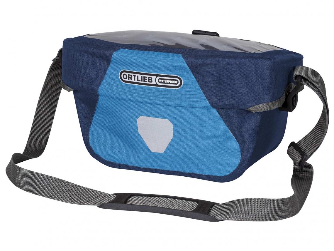 Ortlieb Stuurtas Ultimate Six Plus 5L Denim-Staalblauw