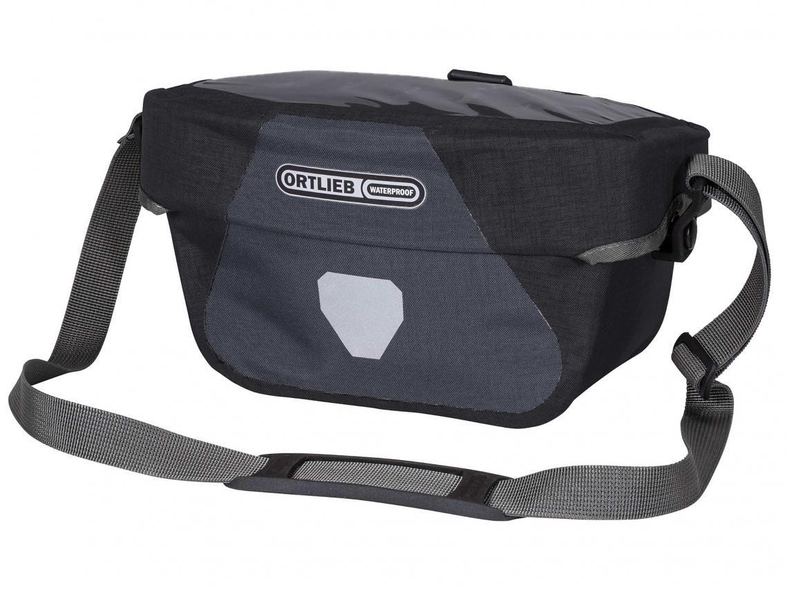 Ortlieb Stuurtas Ultimate Six Plus 5L Graniet-Zwart