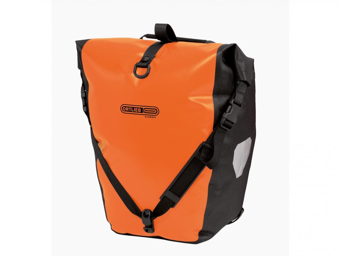 Ortlieb Back-Roller Classic QL2.1 Achtertassen Oranje-Zwart