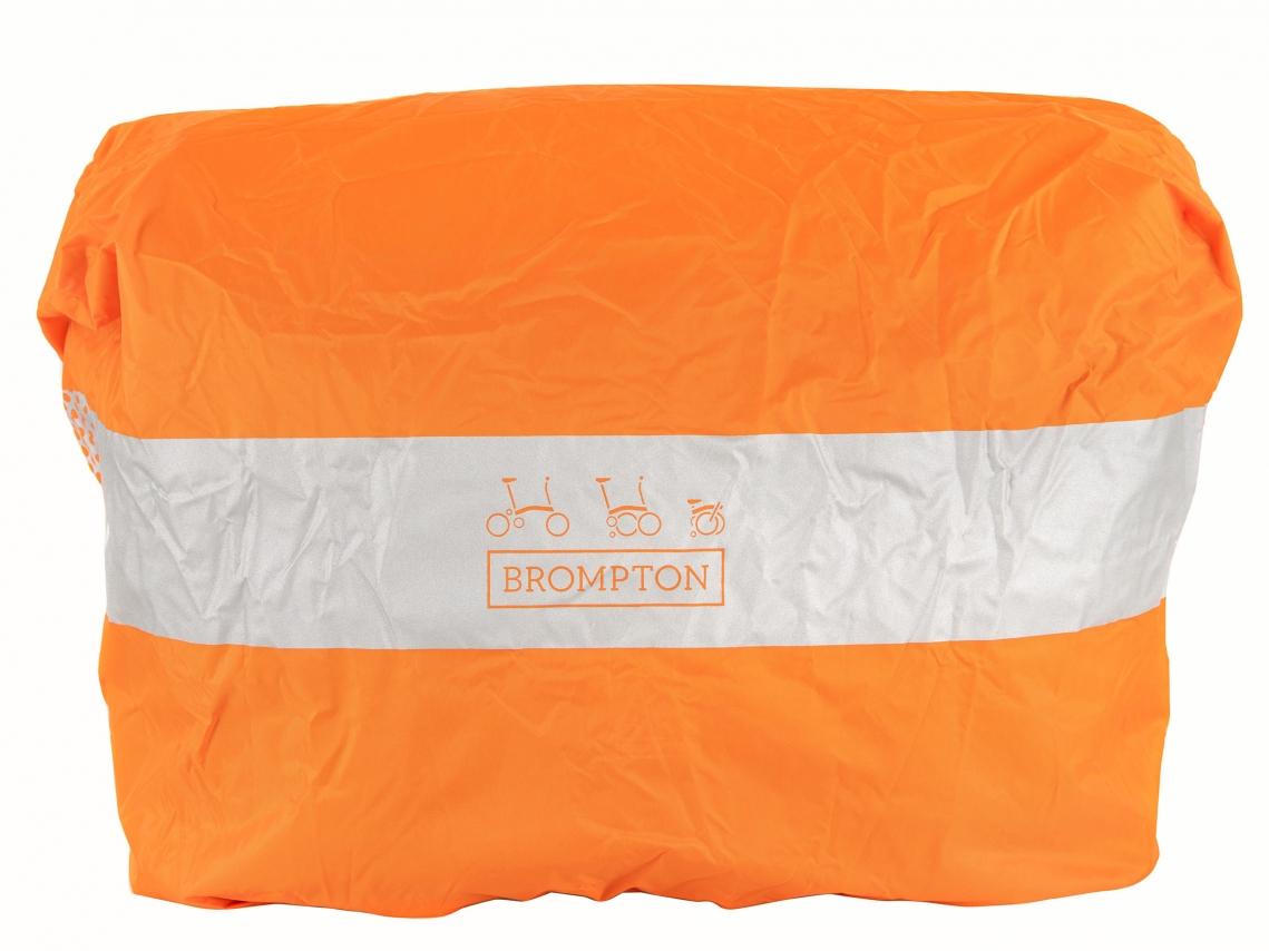 Brompton Regenhoes Oranje L voor Large Bags