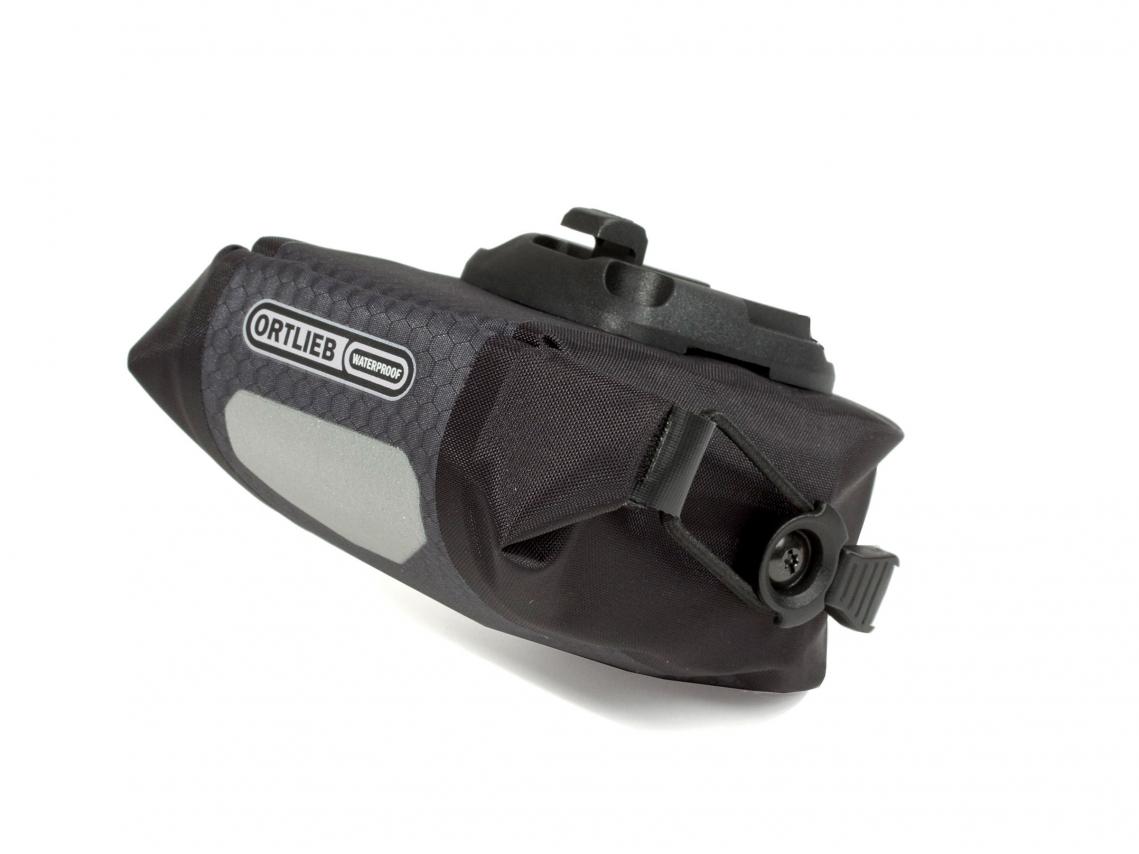 Ortlieb Micro Zadeltas 0.6L Leigrijs-Zwart
