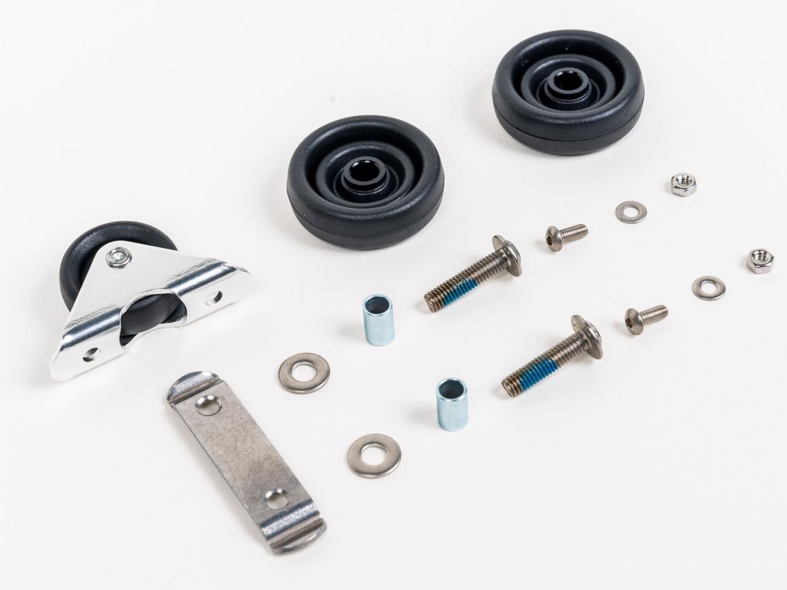 Brompton Roller Set L/E-versie 2xM6 incl. Spatbord-Rolset