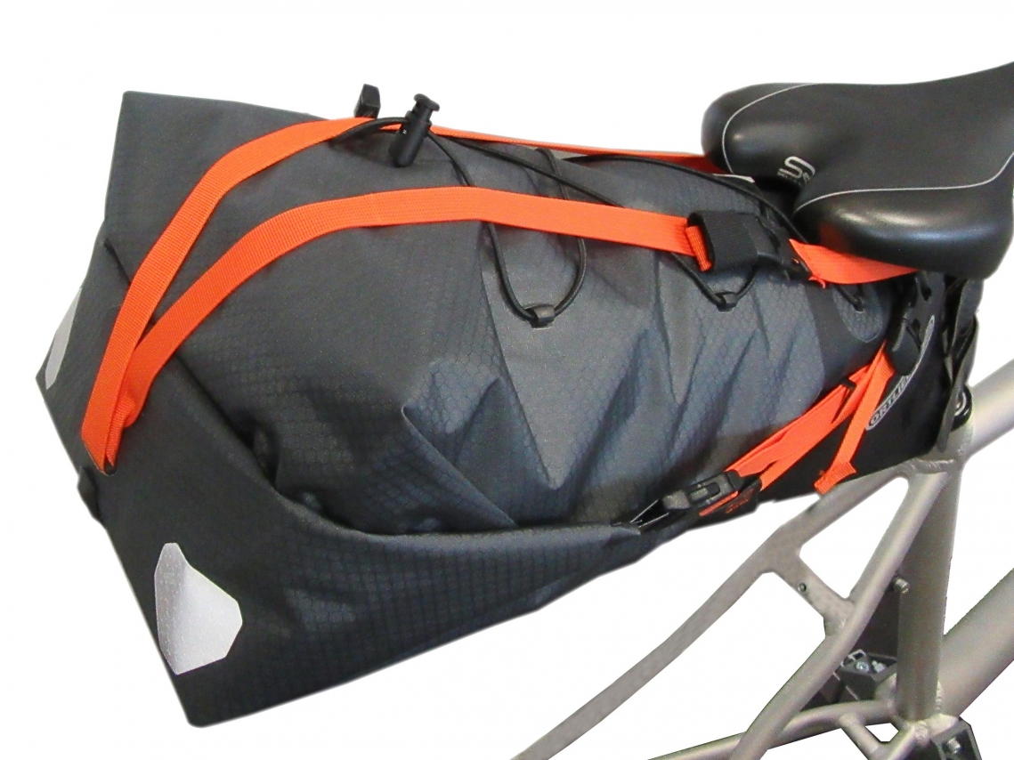 Ortlieb Support Strap voor Seat-Pack Oranje E216