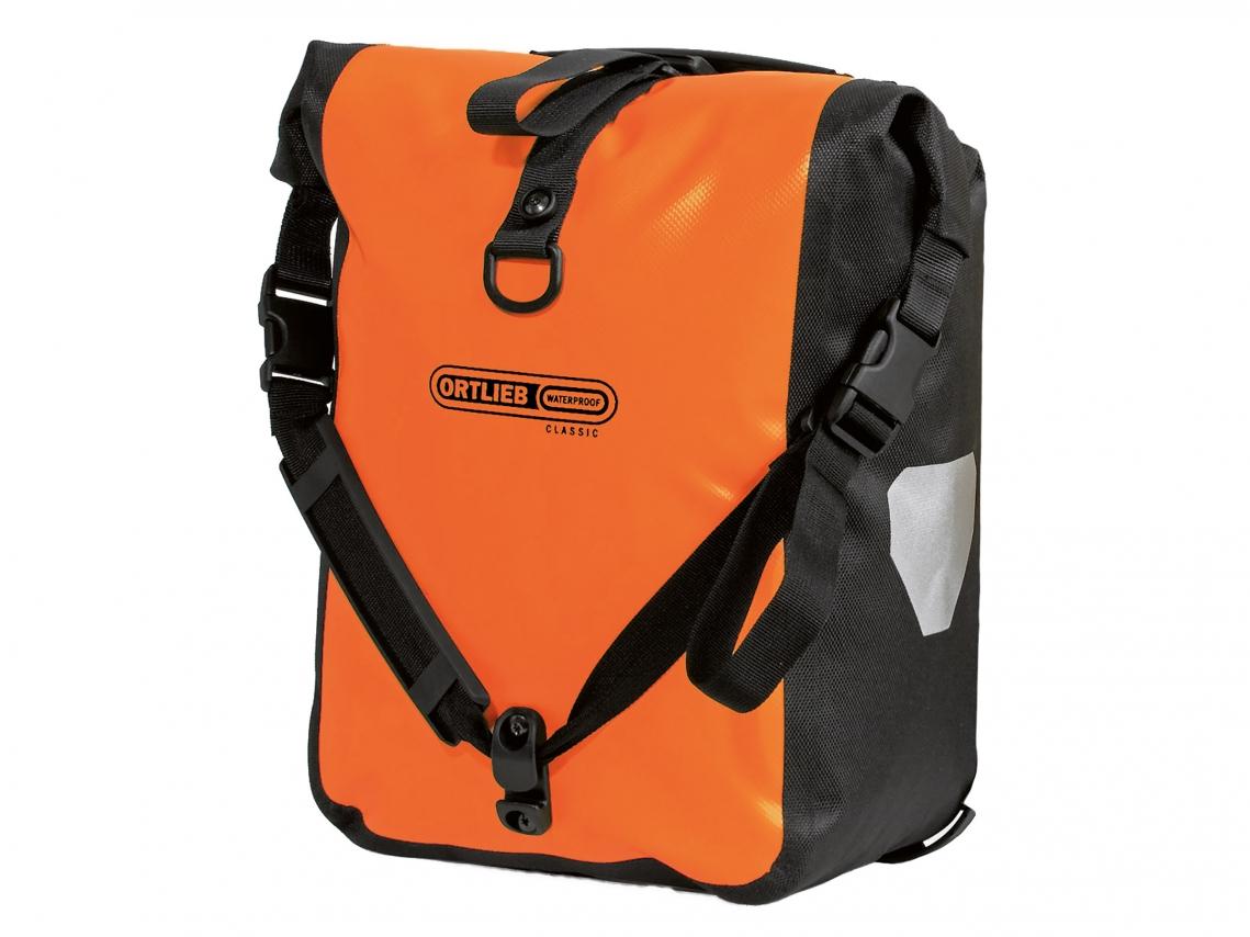 Ortlieb Sport-Roller Classic QL2.1 Voortassen Oranje-Zwart