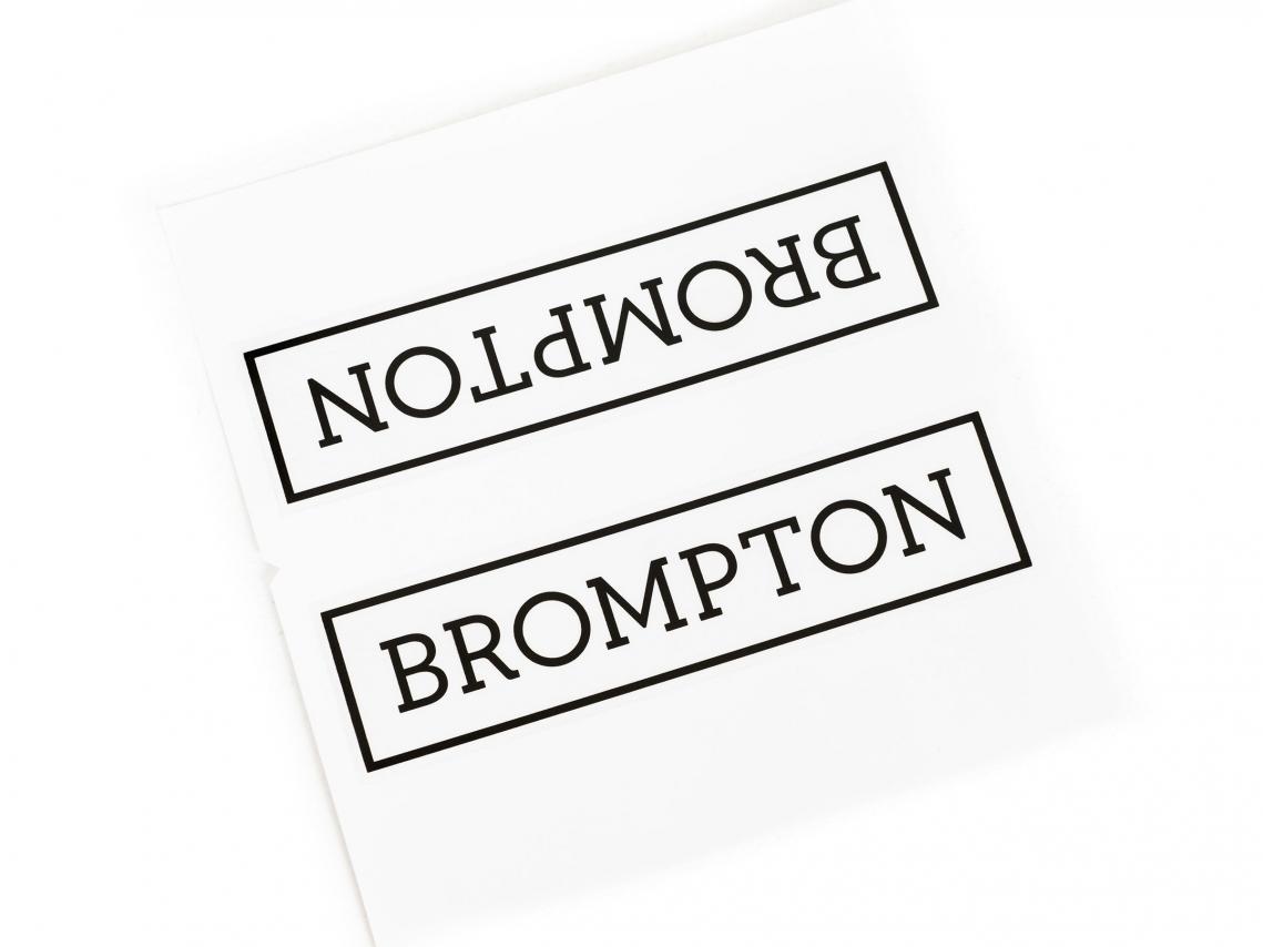 Brompton Transfer / Decal
