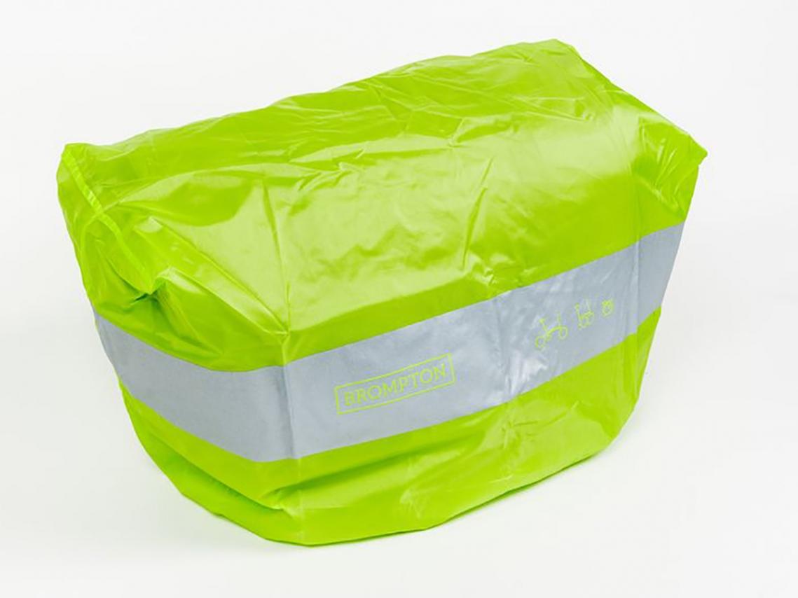 Brompton Regenhoes Limoen voor T-Bag met Houtje-Sluiting