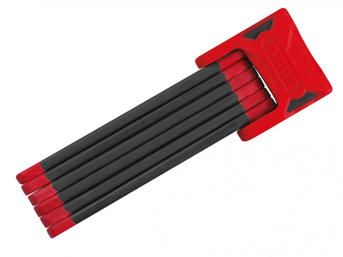 Abus Bordo 6000 SH 90cm Vouwslot met Sleutel Rood