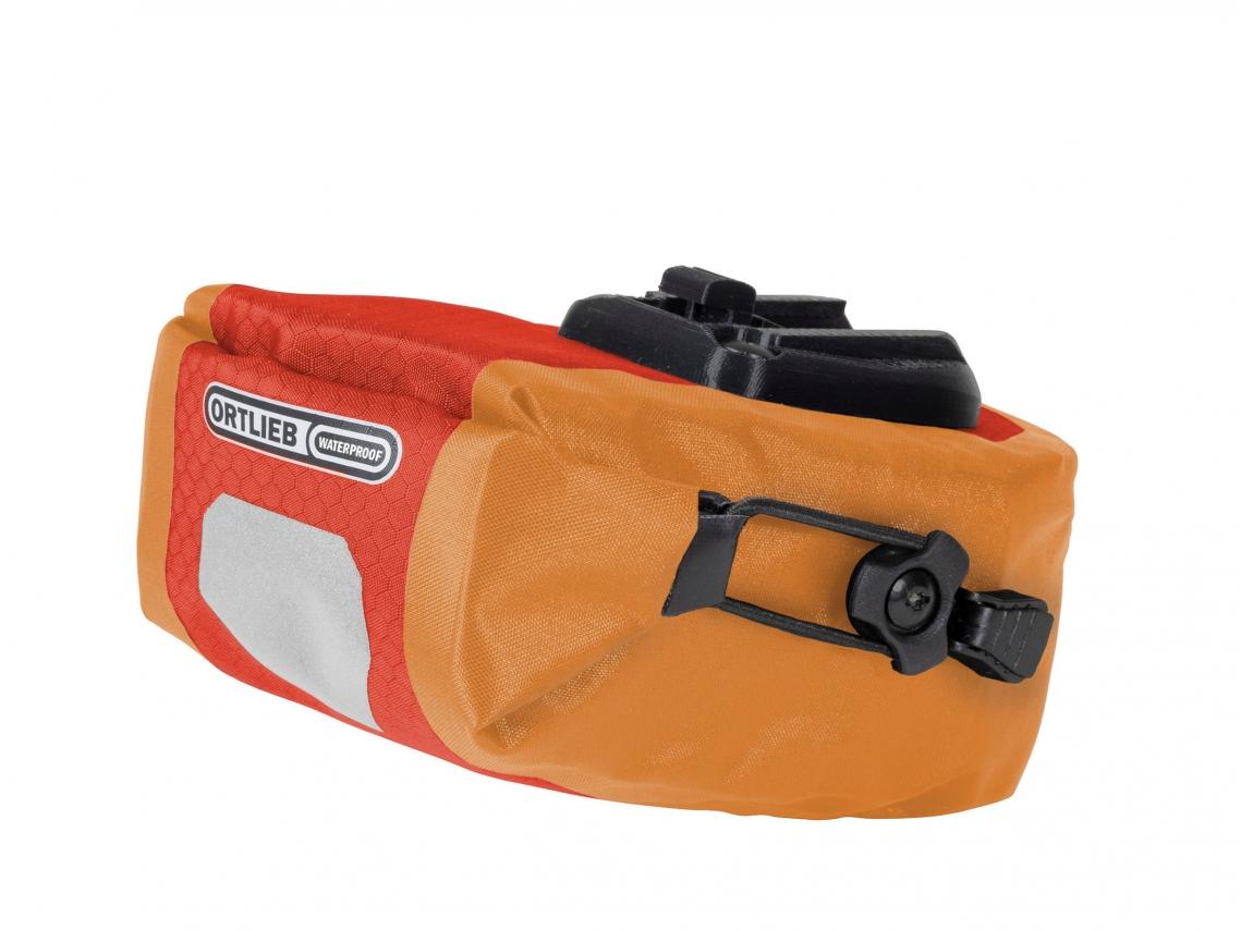 Ortlieb Micro Two Zadeltas 0.8L Signaalrood-Oranje