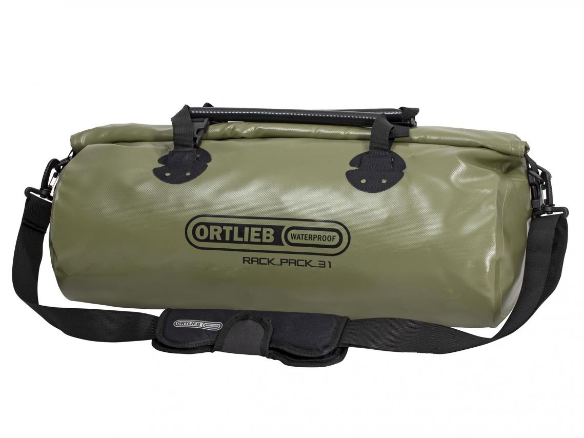 Ortlieb Rack-Pack M Reis- & Sporttas 31L Olijf-Zwart
