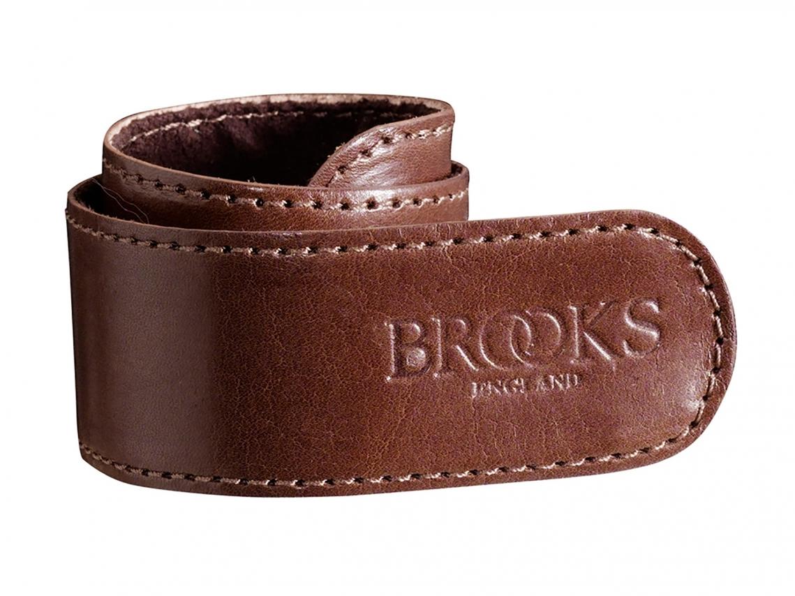 Brooks Lederen Broekklem Bruin