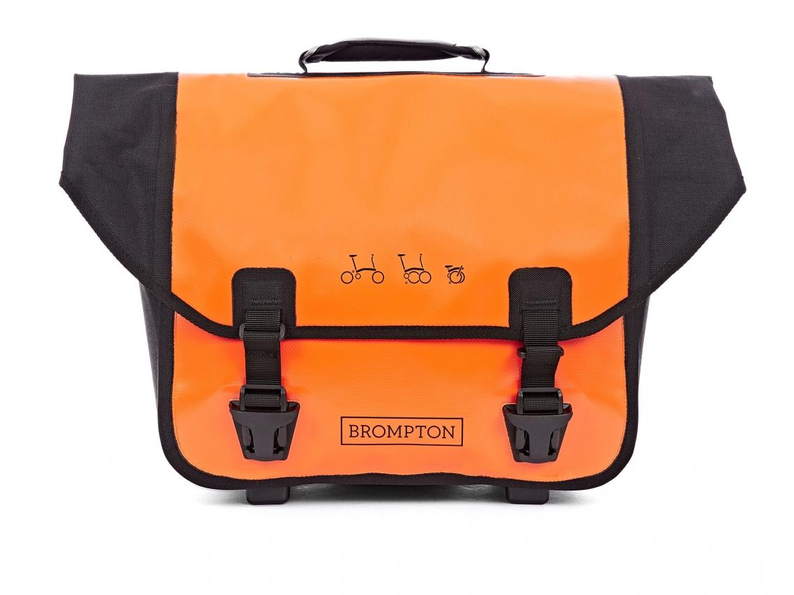 Brompton Ortlieb O-Bag Oranje