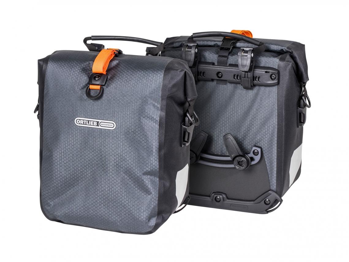 Ortlieb Gravel-Pack Bikepacking Voor- of Achtertassen Leigrijs