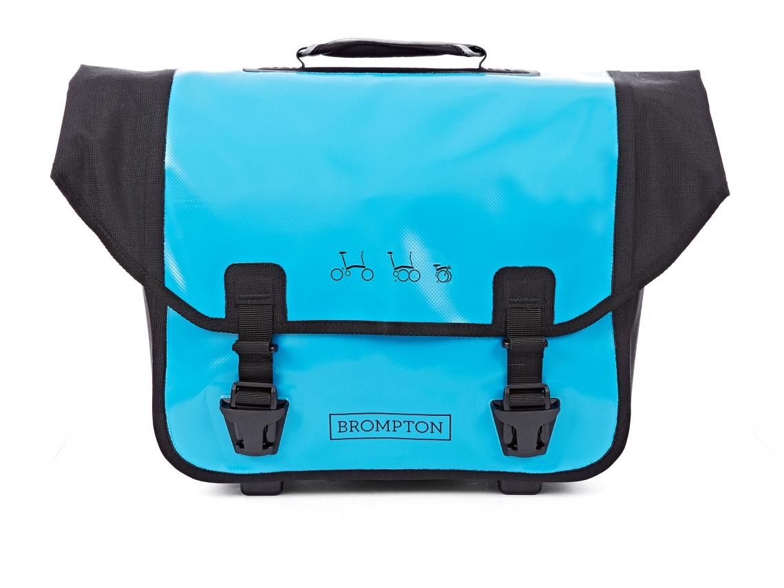 Brompton Ortlieb O-Bag Lagune Blauw