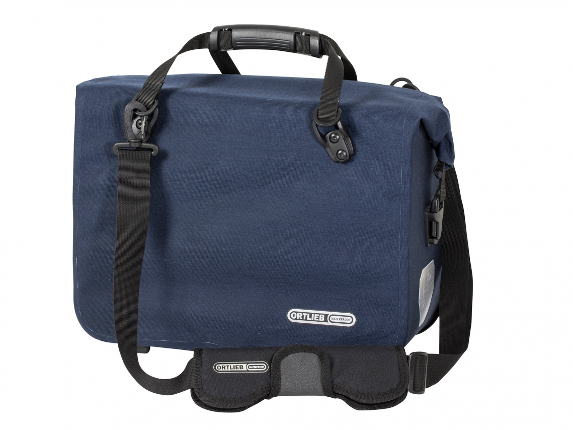 Ortlieb Office-Bag QL3.1 Aktentas Large Cordura Staalblauw