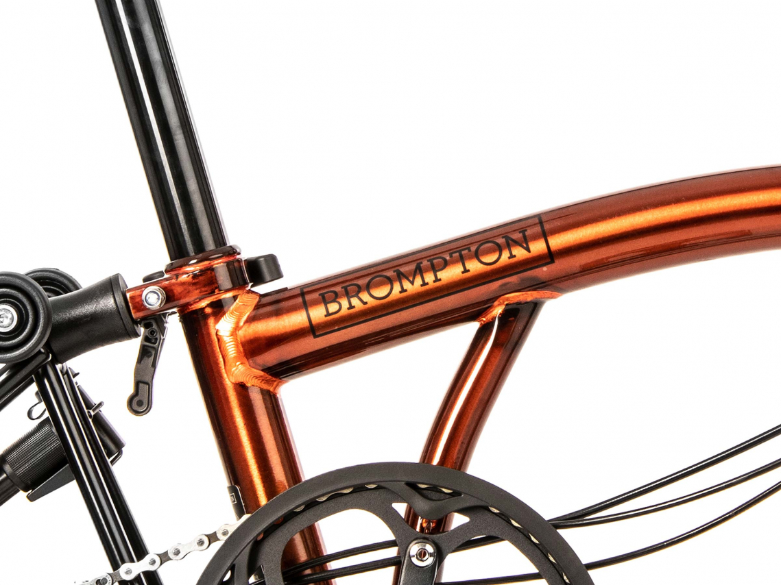 Brompton M6R Black Edition Flame Lacquer