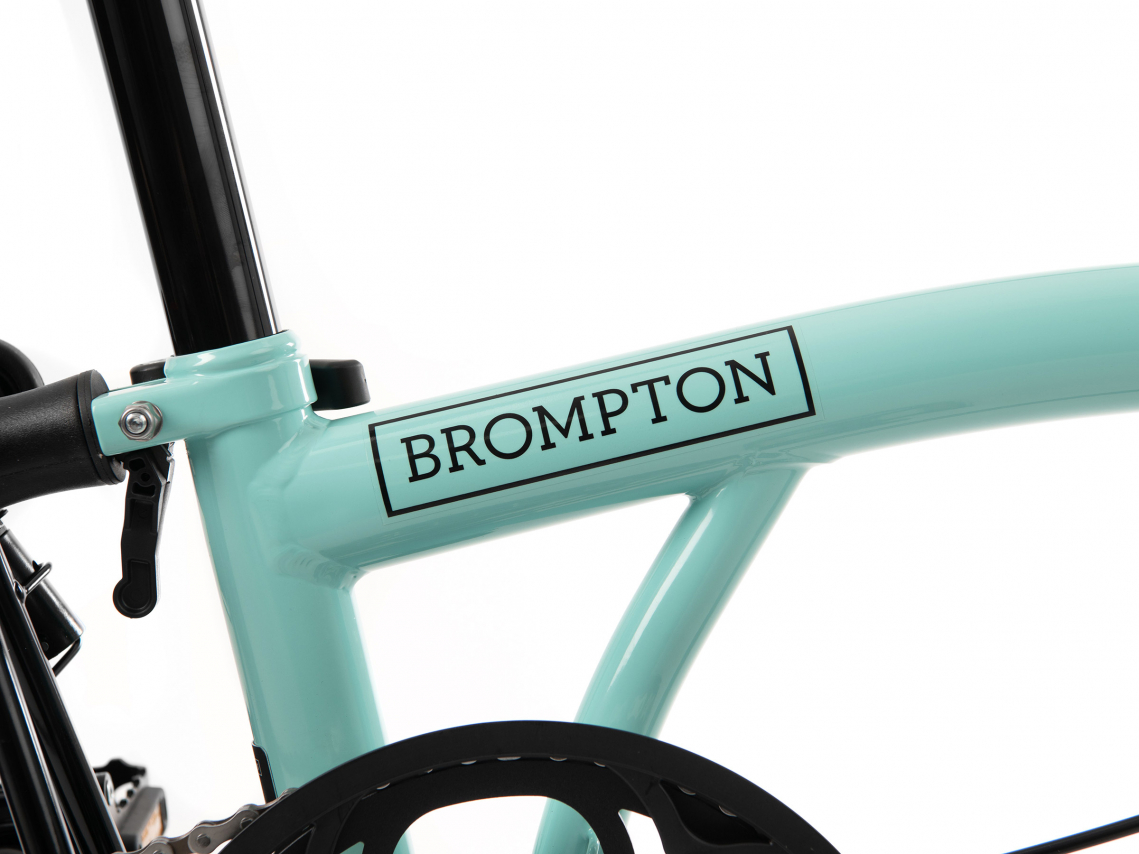 Brompton H6R Black Edition Turkoois