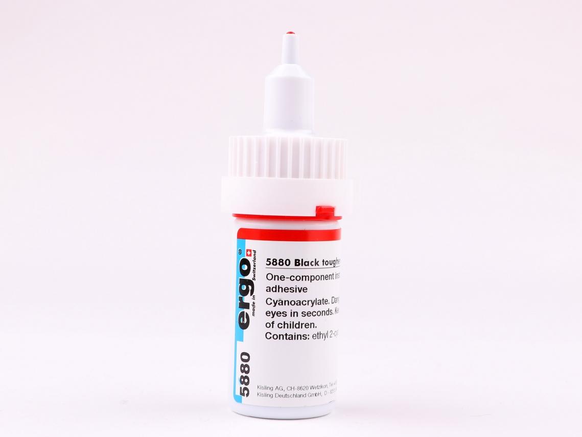 Brompton Cyaan-Acrylaatlijm voor Glijbus 20ml.