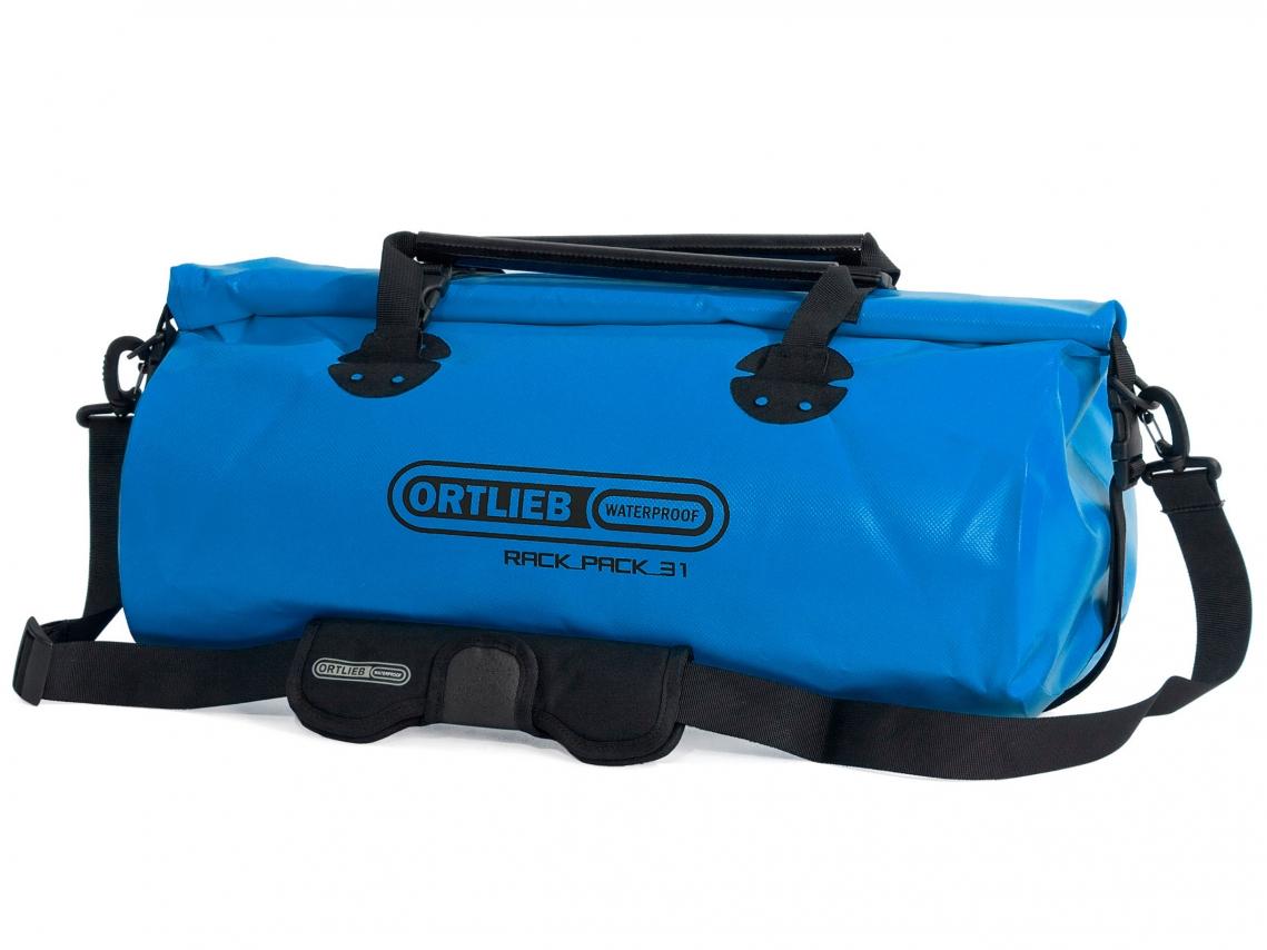 Ortlieb Rack-Pack M Reis- & Sporttas 31L Oceaanblauw