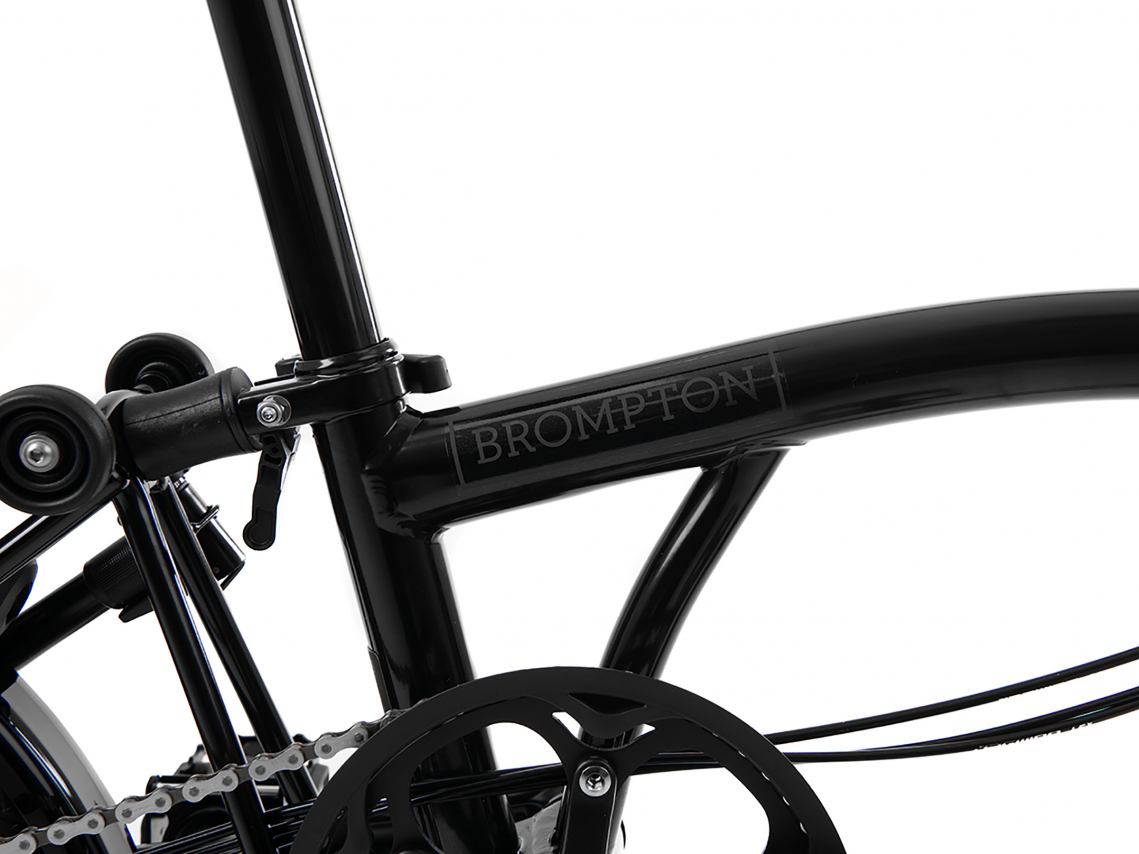 Brompton H6R Black Edition Zwart Glans