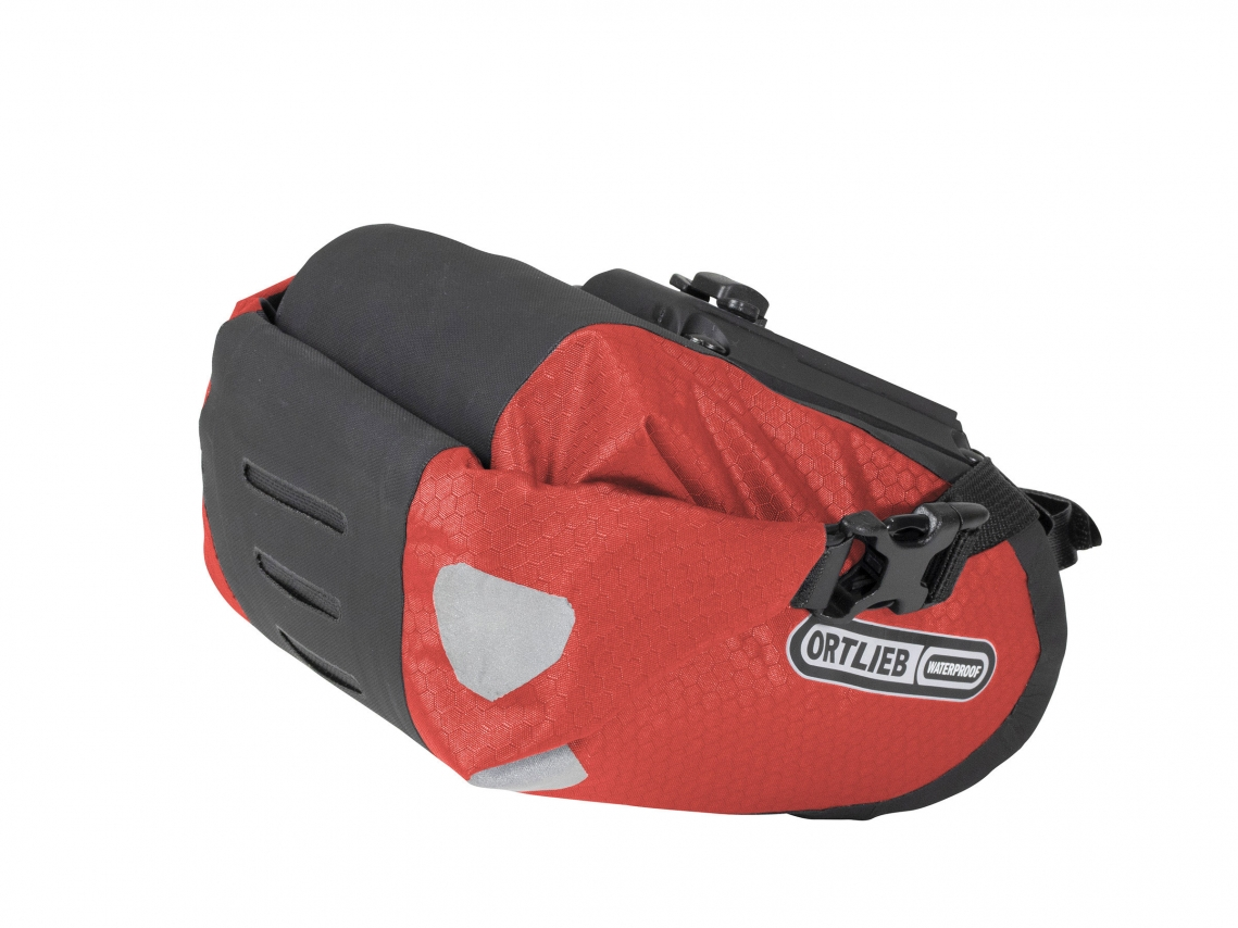 Ortlieb Saddle-Bag Two Zadeltas 1.6 L Signaalrood-Zwart