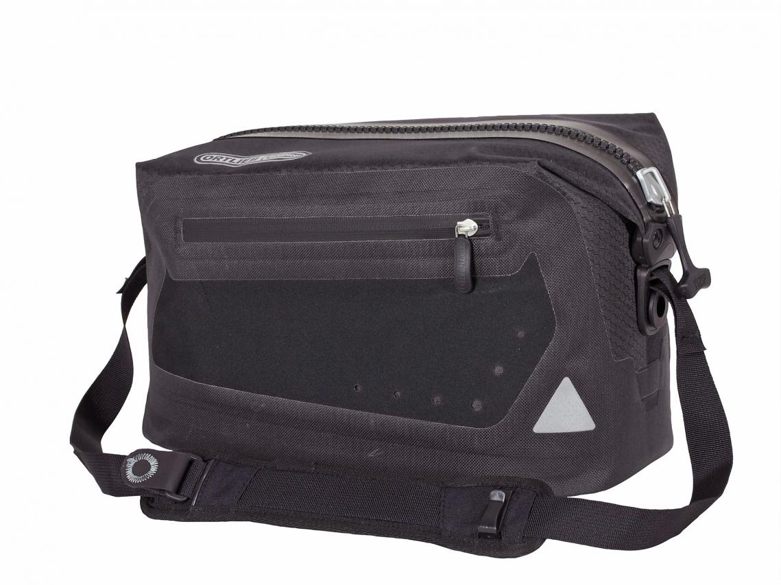 Ortlieb Trunk-Bag Rack-Lock Adapter Leigrijs-Zwart