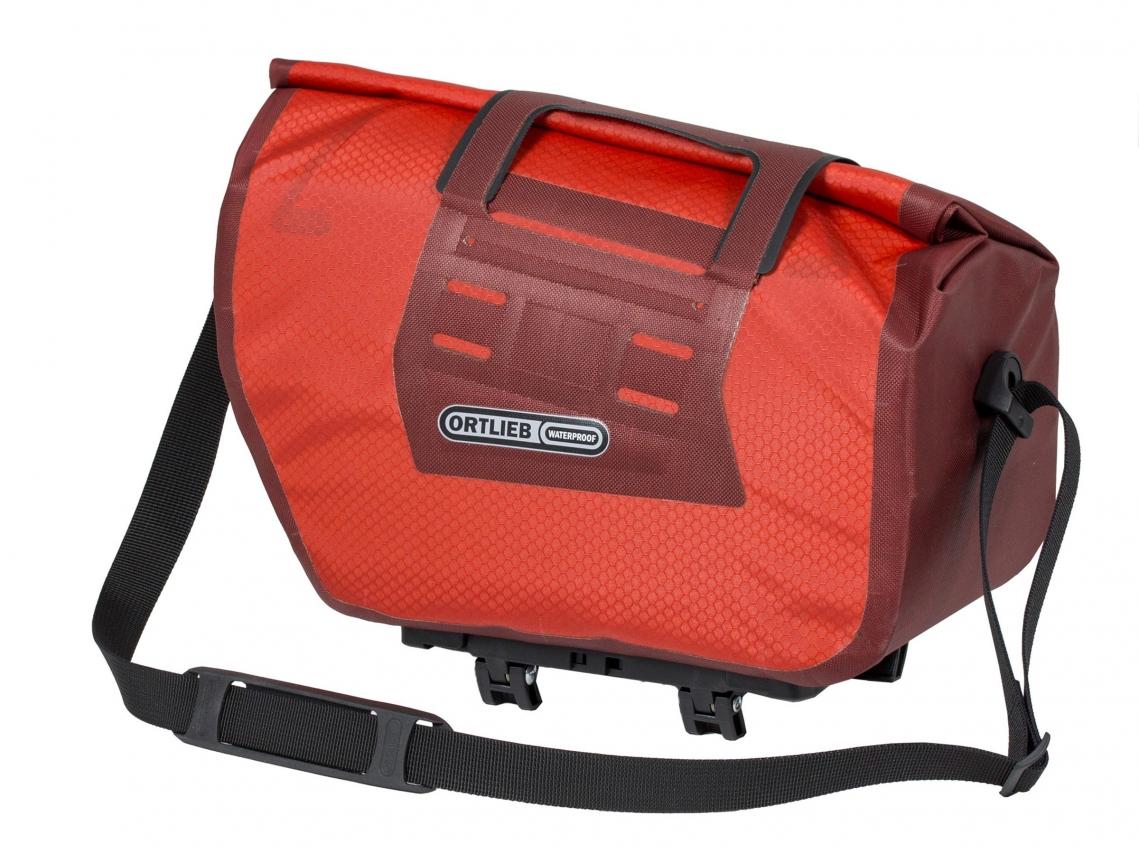 Ortlieb Trunk-Bag RC Rack-Lock Adapter Dark Chili-Signaalrood