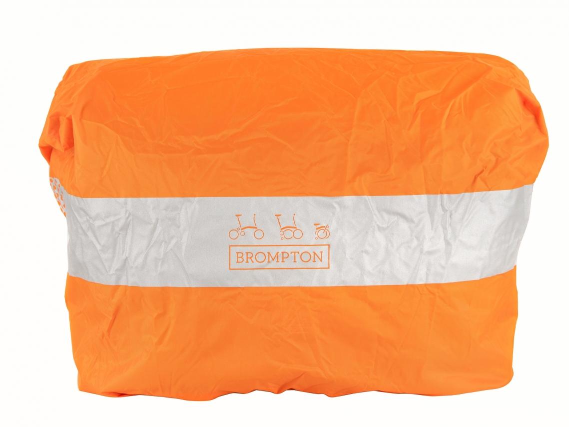 Brompton Regenhoes Oranje M voor Medium Bags