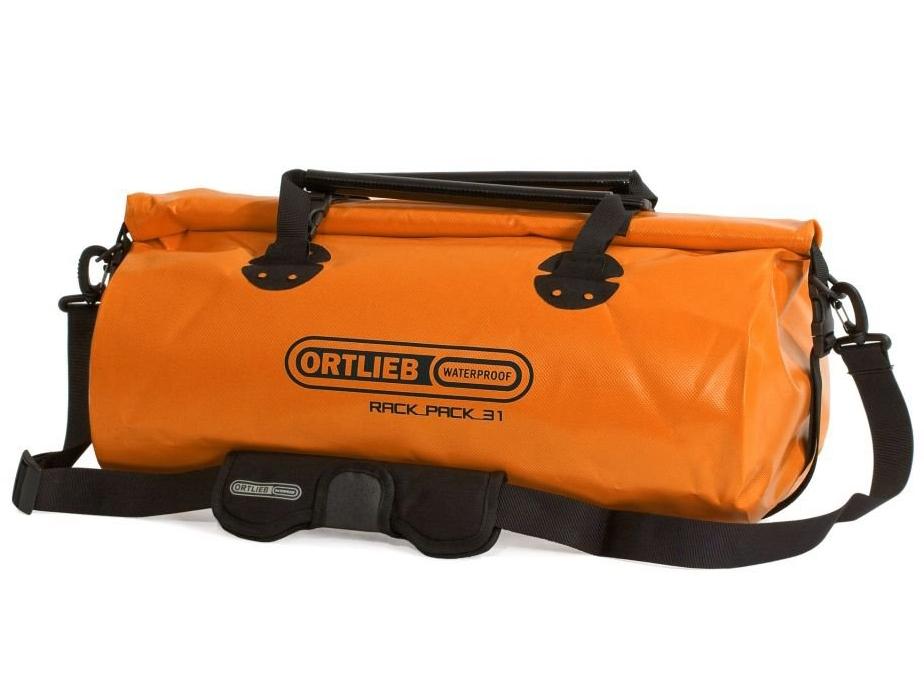 Ortlieb Rack-Pack M Reis- & Sporttas 31L Oranje