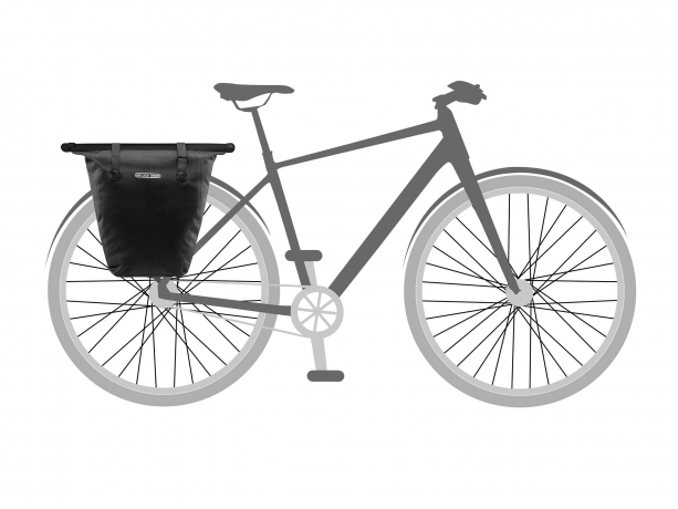 Ortlieb Bike-Shopper QL2.1 Boodschappentas Zwart