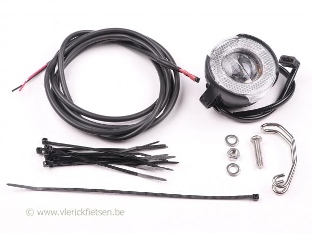 Brompton Koplamp LED KIT LYT voor Naafdynamo Shimano, met kabels