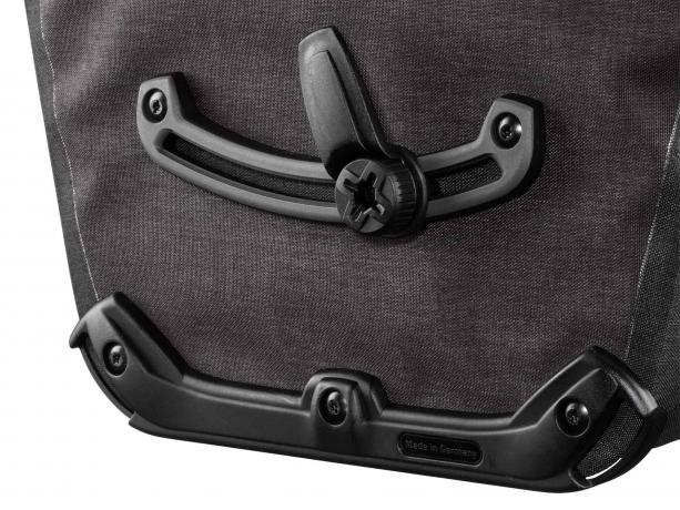 Ortlieb Bike-Packer Plus QL2.1 Achtertassen Graniet-Zwart