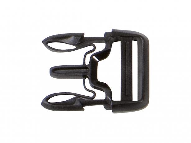 Ortlieb Steeksluiting X-Lite 25mm zwart E217