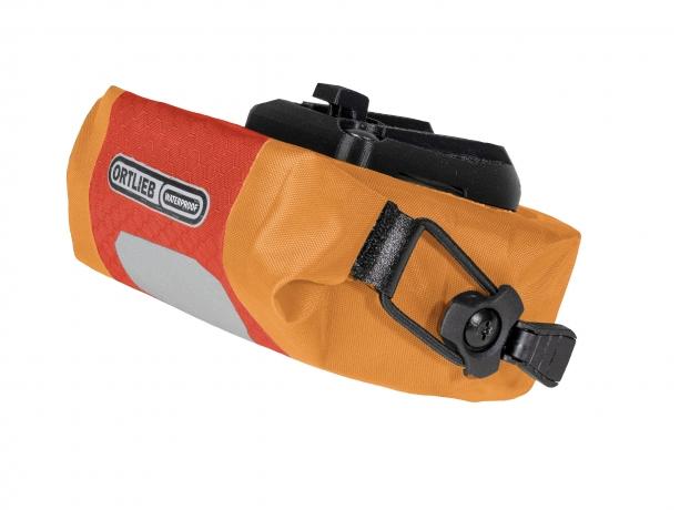 Ortlieb Micro Two Zadeltas 0.5L Signaalrood-Oranje