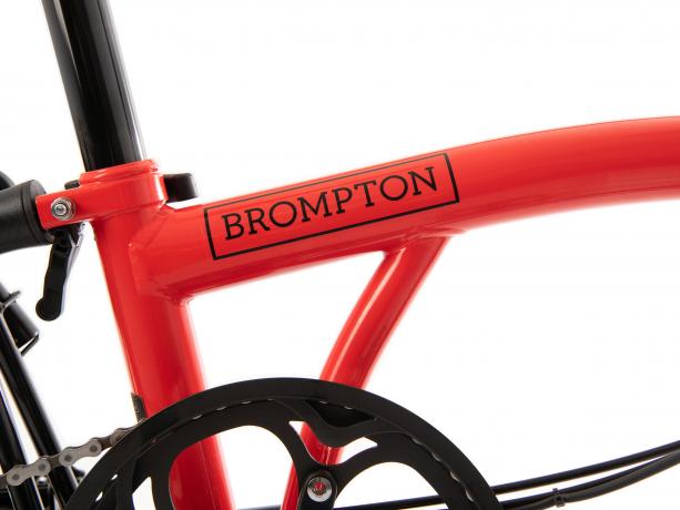 Brompton S6L Black Edition Raket Rood