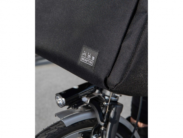 Brompton Metro City Bag M Zwart incl Frame & Regenhoes