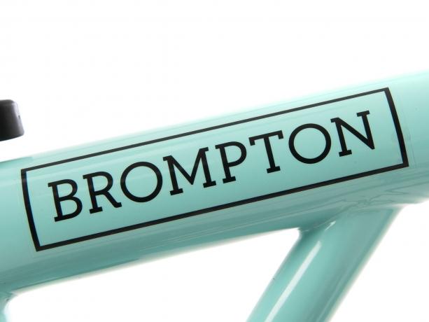 Brompton Transfer / Decal Black Edition, Glans frame