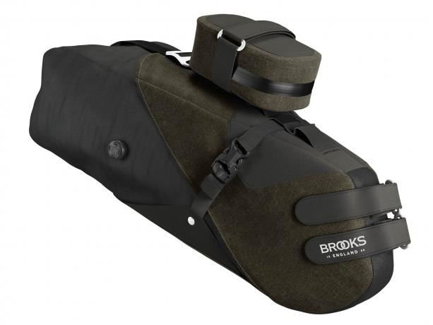Brooks Scape Seat Bag Zadeltas Modder Groen