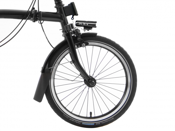 Brompton M6R Black Edition Zwart Glans