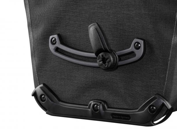 Ortlieb Back-Roller Pro Plus Achtertassen Graniet-Zwart