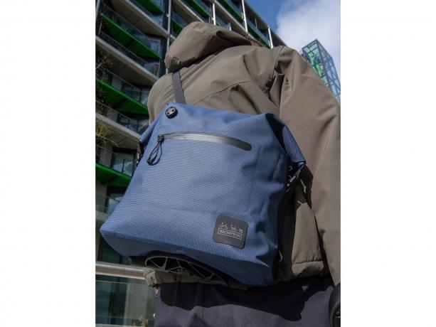 Brompton Borough Waterproof Bag S Navy incl. Frame