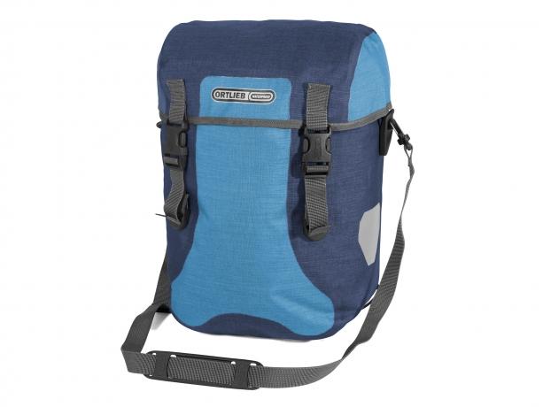 Ortlieb Sport-Packer Plus QL2.1 Voortassen Denim-Staalblauw